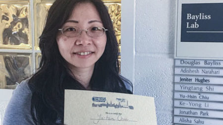Eva Chiu received IGJC